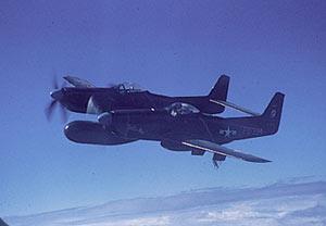 Истребитель F-82G Твин Мустанг